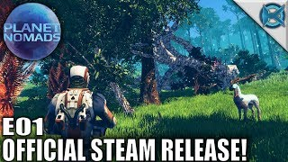 Planet Nomads | Official Steam Release! | Let