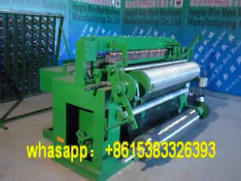 customized production! welded wire mesh machine