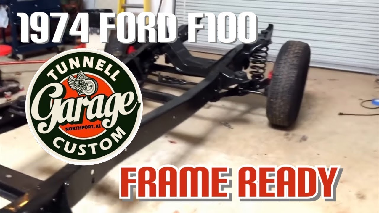 Ford F100 frame swap and restoration - video 11 update on the chassis