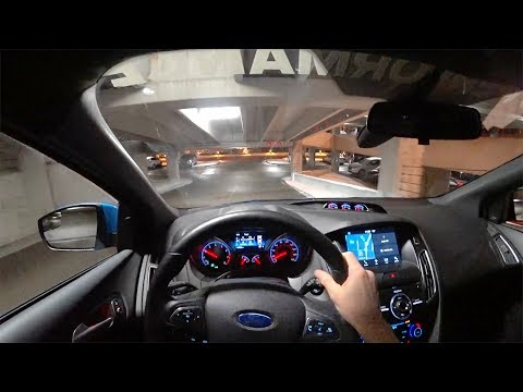 Ford Performance Modified Focus RS POV Night Drive Binaural Audio