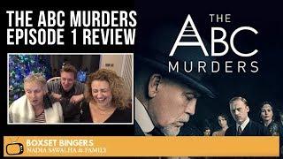 The ABC Murders (John Malkovich BBC Series) Episode 1 - Nadia Sawalha & Family Review
