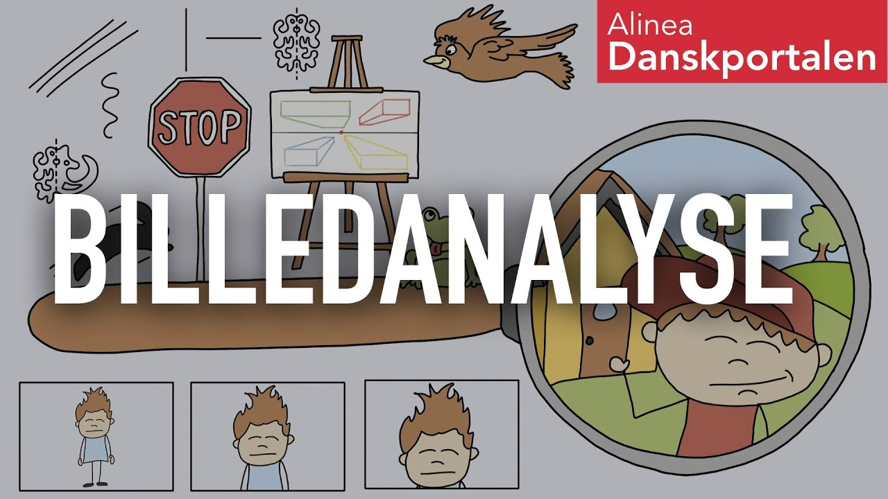 Billedanalyse - animeret dansk