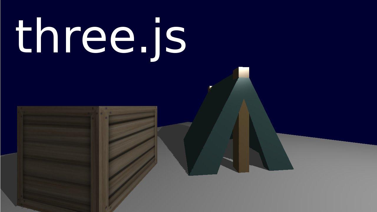 Learning three js 05 :: Model & Material loading (OBJ/MTL)
