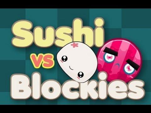 Sushi vs Blockies! Walkthrough