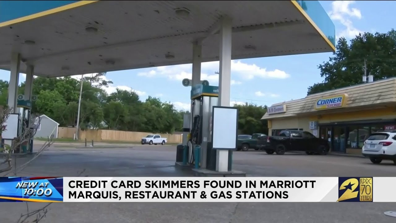 Credit Card Skimmers Found In Marriot Marquis Restaurant And Gas Stations