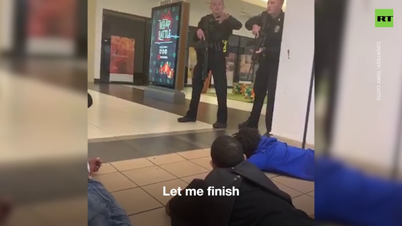 Store owner & customers victimized by police responding to an active shooter