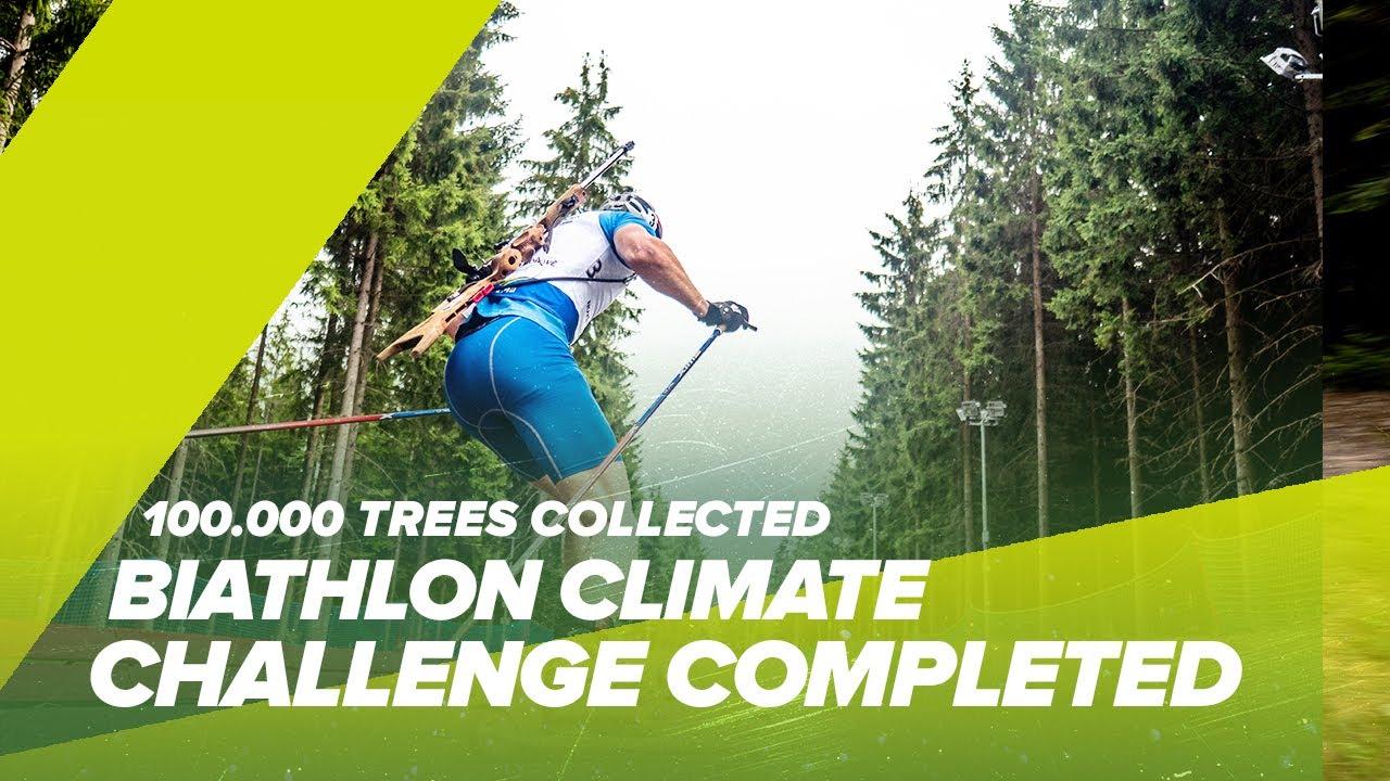 Biathlon Climate Challenge  2021 Completed