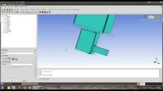 ICEM CFD BASIC TUTORIAL+ HOW TO  EXTRUDE +geometry genetarion