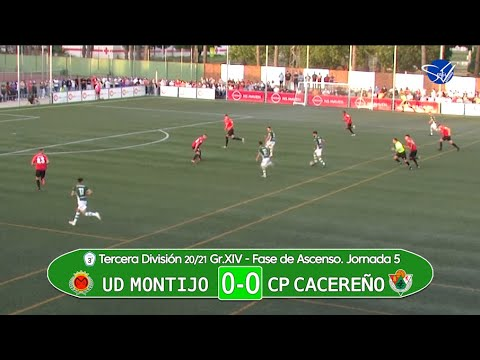 UD Montijo - CP Cacereño. Fase de Ascenso a 2ª RFEF (3ª División Gr.XIV 20/21)