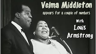 Louis Armstrong with Velma Middleton Live 1959