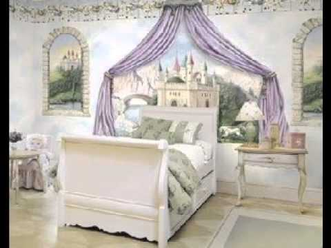 Disney princess room design decor ideas youtube for Disney princess bedroom ideas