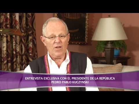 ENTREVISTA AL PRESIDENTE DE LA REPÚBLICA PEDRO PABLO KUCZYNSKI SEGUNDA PARTE