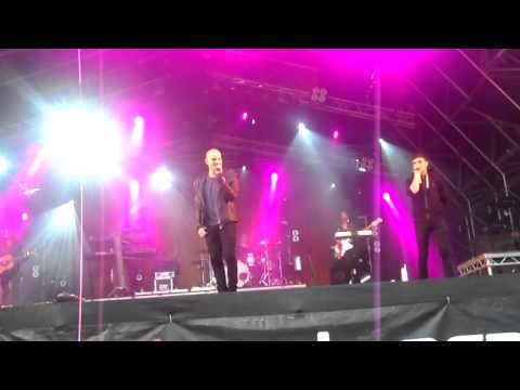 The Wanted - Heart Vacancy (Mouth Of The Tyne 14.07.2012)