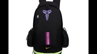 Баскетбольный рюкзак Nike Kobe Bryant черный магазин BASKET FAMILY