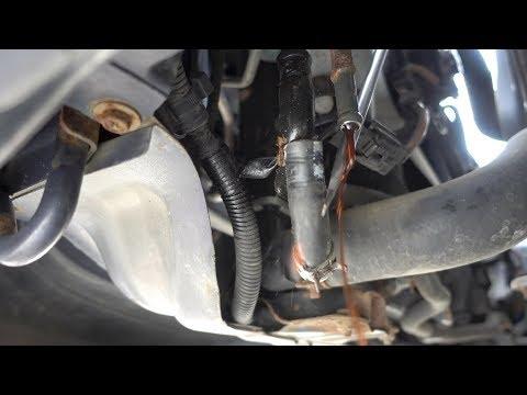 How To Replace Subaru Impreza Transmission Cooler Line