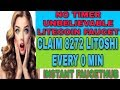 NO TIMER UNBELIEVABLE LITECOIN FAUCET    CLAIM 8272 LITOSHI EVERY 0 MIN    INSTANT FAUCETHUB