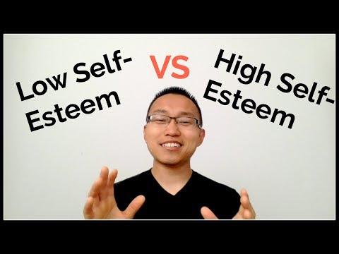 Low Self-Esteem vs High Self-Esteem
