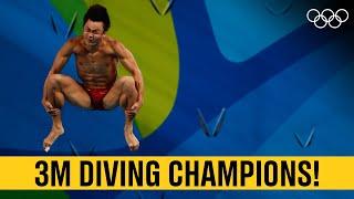 Men's 3M Diving 🥇 Last 5 Champions!