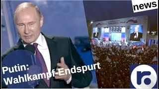 Putin im Wahlkampf-Endspurt