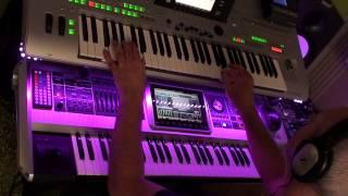 Baltimora  - Tarzan Boy extended mix on Tyros 3 and Fantom G6