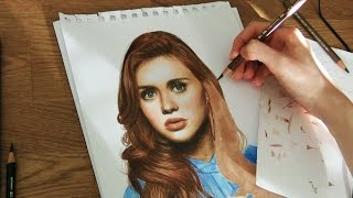 Drawing Holland Roden as Lydia Martin [TEEN WOLF]