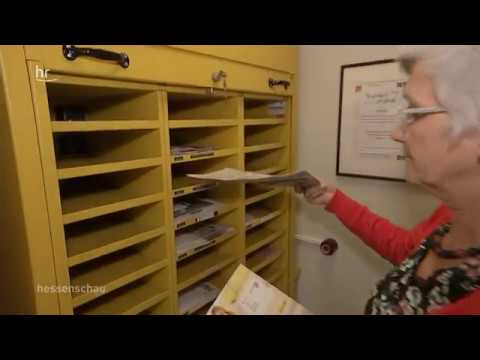 TV Doku: Postagentur Waldbrunn Hausen wird nach 114 Jahren geschlossen