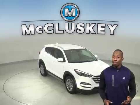 G17109TR Used 2018 Hyundai Tucson White SUV Test Drive, Review, For Sale -