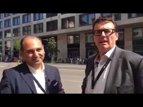 Interview with Haig A. Peter @haigalexander 🎬 #shlTV #heapps16 Zurich