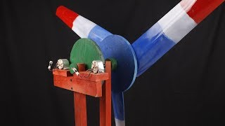 How to Make a Wind Power Generator at Home. | DIY |