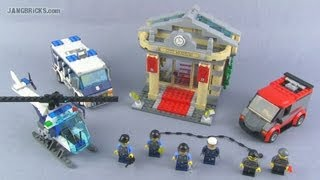 LEGO City 60008 Museum Break-In set Review!