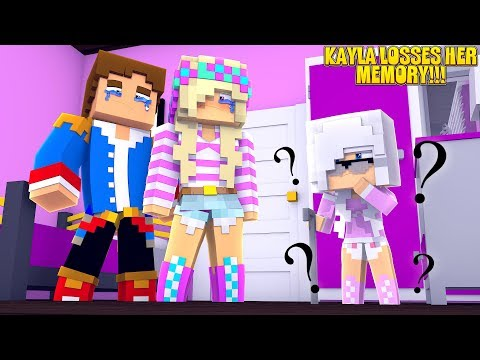 Minecraft PRINCESS BABY KAYLA FORGETS HER WHOLE LIFE!!!
