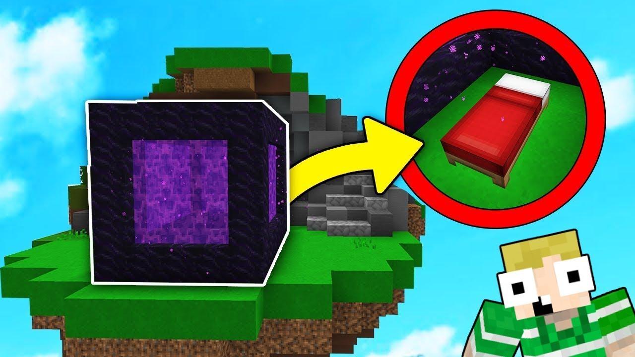 Download NETHER PORTAL I BEDWARS!! - Dansk Minecraft