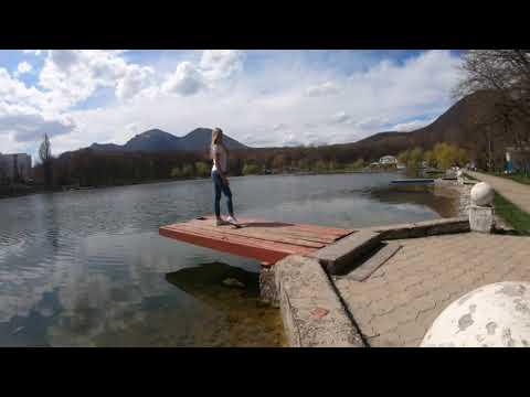 Курортное озеро. Железноводск. Кавказ.