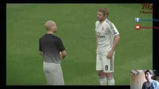 PES 2015 PC Gameplay - Real Madrid vs Arsenal PS4 Primer Tiempo Comentarios Chilenos