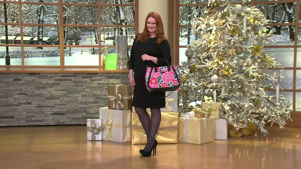be8a8f98a1d9 Vera Bradley Signature Print Trapeze Tote with Jacque Gonzales - YouTube