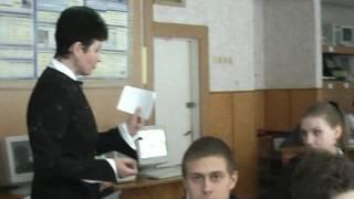 Урок розвитку мовлення  10-А класу ЗОШ І-ІІІ ступенів №6 м. Прилуки. Частина 5.