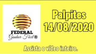 Ganhar Fácil - Palpites 14/08 todas Loterias Rio São paulo Lotep Lotece lbr nacional LOOK Minas