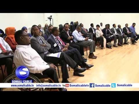 Discussion MN Somali Community  & US Ambassador of Somalia H E Spephen Schwartz