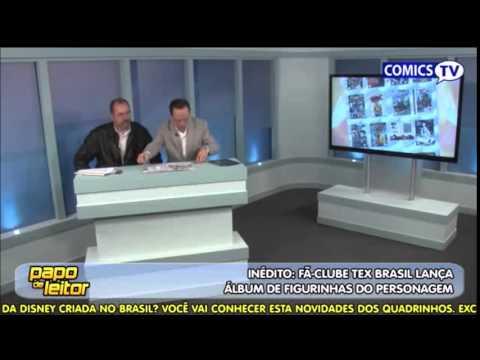 ComicsTV apresenta o álbum de figurinhas do Fã Clube Tex Brasil