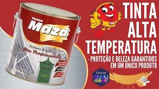 TINTA ALTA TEMPERATURA - Tintas Maza