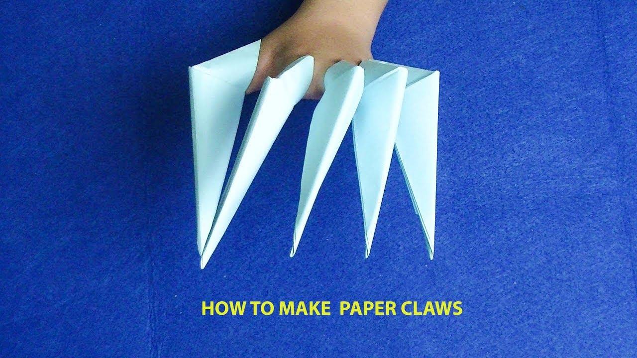Xếp giấy Origami-Hướng dẫn gấp móng vuốt