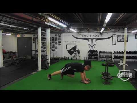 How To Run Faster:  Sled Push (no Speed Training Equipment Needed!)