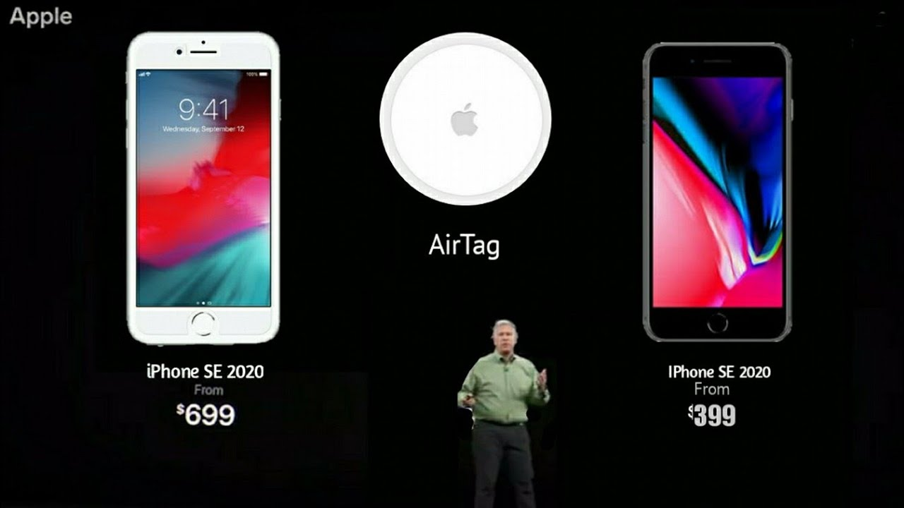 Apple iPhone SE 2020 & Apple AirTag Official reveal before Launch