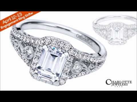 Gabriel & Co. NY Diamond Engagement Ring Show Charlotte Jewelers Peterborough April 12-13, 2013
