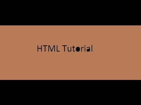 HTML Tutorial [German] [HD]- #3 Anfangen Zu Website Schreiben!