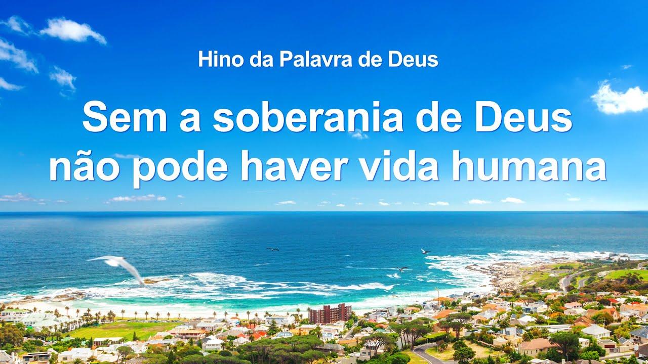 """Música gospel de adoração """"Sem a soberania de Deus não pode haver vida humana"""""""