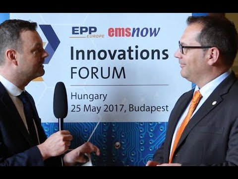Interview with Claus Schulz, Christian Koenen at InnovationsFORUM Hungary 2017