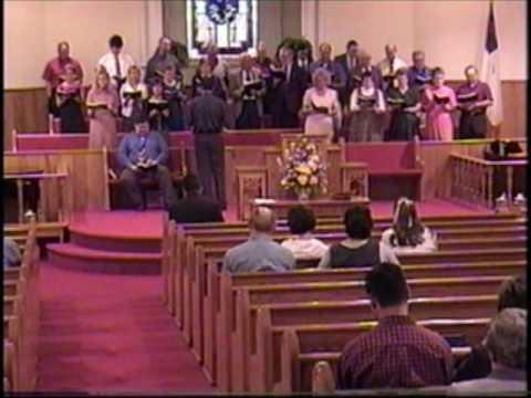 Because He Lives - Mount Carmel Baptist Church Choir, Fort Payne Alabama April 2003