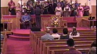 Because He Lives - Mount Carmel Baptist Church Choir, Fort Payne Alabama April 2003