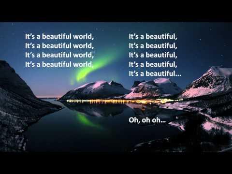 Blasterjaxx & D-Block & S-te-Fan - Beautiful World (Lyric Video)